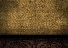 Grunge room wallpaper Royalty Free Stock Photos