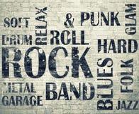 Grunge roomGrunge skały plakat obrazy stock