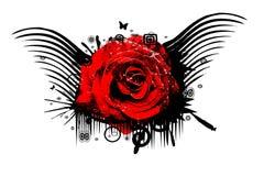 Grunge rose Royalty Free Stock Photography