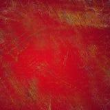 Grunge rouge Photos libres de droits