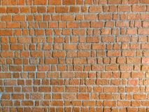 Grunge rouge de texture de mur de briques Photos stock