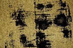 Grunge Rough concrete neutral ultra yellow texture, stone surface, cement background.  Stock Photo