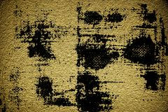 Grunge Rough concrete neutral ultra yellow texture, stone surface, cement background.  Stock Photos
