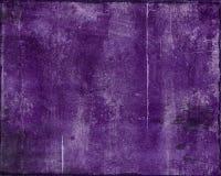 Grunge roxo destruído Foto de Stock Royalty Free