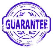 Grunge rubber ink stamp. Illustration of a grunge rubber ink stamp: GUARANTEE Royalty Free Stock Photography