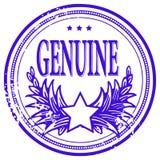 Grunge rubber ink stamp. Illustration of a grunge rubber ink stamp: GENUINE Stock Images