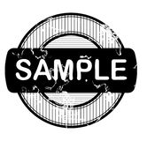 Grunge rubber stamp Stock Photo