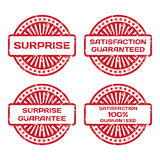 Grunge Rubber Stamp Set. Royalty Free Stock Images