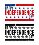 Grunge rubber stamp with word Independence day ,vector illustration Royalty Free Stock Photo