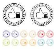 Grunge rubberzegel met tekst honderd perc Stock Afbeeldingen