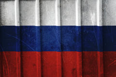 Grunge russian flag Royalty Free Stock Photography