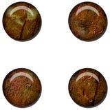 Grunge Rust Web Button royalty free illustration