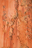 Grunge rusted metal. Grunge background of rusted metal beam Stock Images