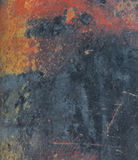 Grunge and rusted metal sheet as background Stock Photos