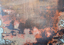 Grunge rustic textured metal background.  Stock Photography