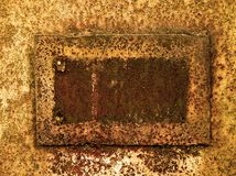 Grunge rusty frame Royalty Free Stock Photos