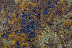 Grunge rusty metal plate royalty free stock image