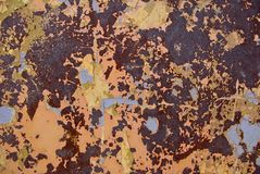 Grunge Rusty Metal Texture Royalty Free Stock Photo