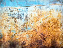 Grunge rusty textured metal background Stock Photo