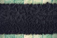 Grunge rynkad pappers- textur Arkivfoton