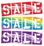 Grunge sale Royalty Free Stock Photos