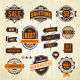 Grunge sale emblems Royalty Free Stock Photo