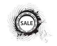 Grunge sale rubber stamp Stock Image