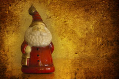 Grunge Santa Clouse Stock Photo