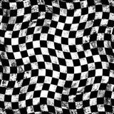 Grunge Schachbrethintergrund Lizenzfreie Stockfotografie