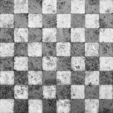 Grunge Schachbrett-Mosaik lizenzfreie abbildung