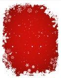 Grunge Schneeflockehintergrund Lizenzfreie Stockbilder