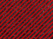 Grunge schwarze und rote Oberfläche als warnendes Muster Stockbilder