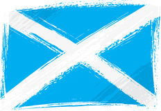 Grunge Scotland flag Royalty Free Stock Photography