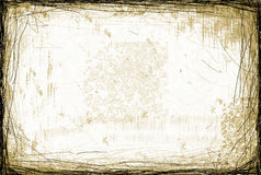 Grunge Scratched Background Stock Photos