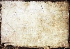 Grunge scratched frame Stock Image