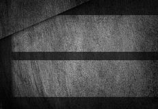 Grunge, scratched gray metal texture. Geometric shapes. Old iron background. Royalty Free Stock Image