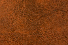 Grunge scratched leather Stock Photos