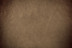 Grunge scratched leather Stock Image
