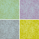 Grunge scratched surface background in multiple colors Royalty Free Stock Photography