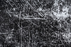Grunge scratched texture Royalty Free Stock Photos