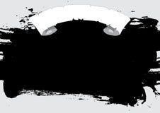 Grunge Scroll Background Stock Image