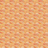 Grunge seamless orange texture broken fractal patterns Stock Images