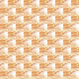 Grunge seamless orange texture broken fractal patterns Stock Photo