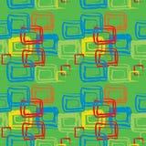 Grunge seamless cell pattern Stock Photo