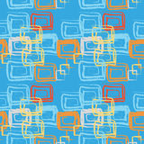 Grunge seamless cell pattern Stock Photography