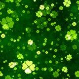 A grunge seamless clover texture Stock Photo