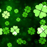 A grunge seamless clover texture Royalty Free Stock Image