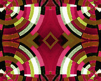 Grunge Seamless Modern Abstract Artwork Stock Image