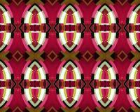 Grunge Seamless Modern Abstract Pattern Stock Photography