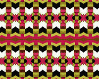 Grunge Seamless Modern Abstract Pattern Stock Images